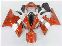 2000-2001 Yamaha YZF R1 Burnt Orange Metallic Fairings | NY10001-25