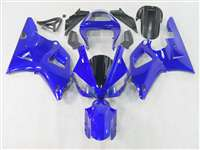 2000-2001 Yamaha YZF R1 Solid Blue Fairings | NY10001-3