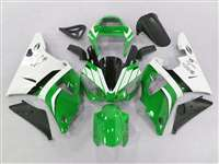 2000-2001 Yamaha YZF R1 Green/White Fairings | NY10001-4