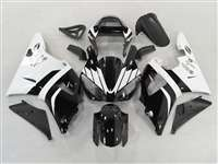 2000-2001 Yamaha YZF R1 Black/White Motorcycle Fairings | NY10001-5