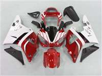 2000-2001 Yamaha YZF R1 Red/White Fairings | NY10001-6