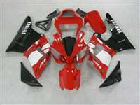 2000-2001 Yamaha YZF R1 Red/White OEM Style Fairings | NY10001-8