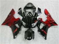 2000-2001 Yamaha YZF R1 OEM Style Red Fairings | NY10001-9