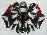 2002-2003 Yamaha YZF R1 Red Flame Fairings | NY10203-13