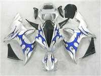 2002-2003 Yamaha YZF R1 Tribal Blue Fairings | NY10203-20