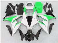 2002-2003 Yamaha YZF R1 White/Green Fairings | NY10203-5