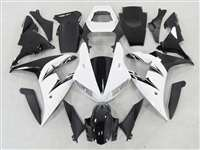 White/Black 2002-2003 Yamaha YZF R1 Motorcycle Fairings | NY10203-6