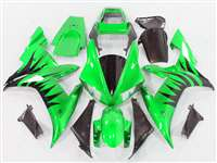 2002-2003 Yamaha YZF R1 Metallic Blast Green Fairings | NY10203-7