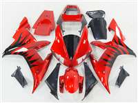 2002-2003 Yamaha YZF R1 Metallic Blast Red Fairings | NY10203-8