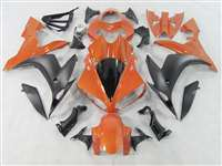 2004-2006 Yamaha YZF R1 Matte/Orange Fairings | NY10406-13