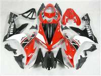 2004-2006 Yamaha YZF R1 White/Red OEM Style Fairings | NY10406-18