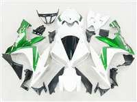 2004-2006 Yamaha YZF R1 Metallic Green/White Fairings | NY10406-31