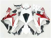 2004-2006 Yamaha YZF R1 Metallic Red/White Fairings | NY10406-32