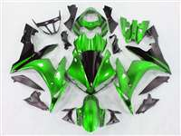 2004-2006 Yamaha YZF R1 Mean Green Fairings | NY10406-35