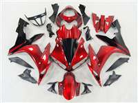 2004-2006 Yamaha YZF R1 Deep Red Fairings | NY10406-37