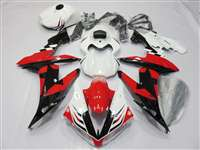 2004-2006 Yamaha YZF R1 Red/Black Star Fairings | NY10406-43