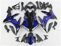 Blue Tribal 2004-2006 Yamaha YZF R1 Motorcycle Fairings | NY10406-6