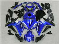 Electric Blue 2007-2008 Yamaha YZF R1 Motorcycle Fairings | NY10708-15