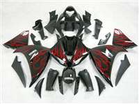 2009-2011 Yamaha YZF R1 Flaming Red Fairings | NY10911-12