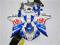 2009-2011 Yamaha YZF R1 Blue FIAT Fairings | NY10911-14
