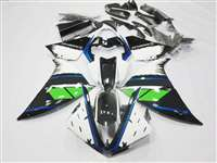 2009-2011 Yamaha YZF R1 Race White/Blue Fairings | NY10911-15