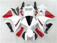 2009-2011 Yamaha YZF R1 Red/White Fairings | NY10911-5