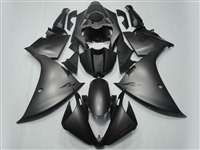2012-2014 Yamaha YZF R1 Matte Black Fairings | NY11215-1