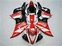 2012-2014 Yamaha YZF R1 Milwaukee Race Fairings | NY11215-2