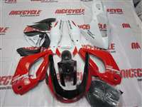 Yamaha YZF 1000 Thunderace White/Red Fairings | NY19603-2