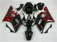 1998-1999 Yamaha YZF R1 Red Flame Fairings | NY19899-9