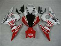 Yamaha 2003-2005 YZF R6 and 2006-2009 R6S Red FIAT Motorcycle Fairings | NY60305-11