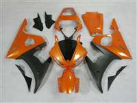 Metallic Orange Yamaha 2003-2005 YZF R6 and 2006-2009 R6S Motorcycle Fairings | NY60305-14
