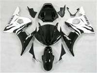 White Flame Yamaha 2003-2005 YZF R6 and 2006-2009 R6S Motorcycle Fairings | NY60305-25