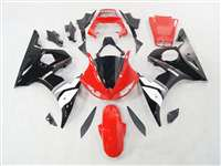 Yamaha 2003-2005 YZF R6 and 2006-2009 R6S White/Red Motorcycle Fairings | NY60305-3