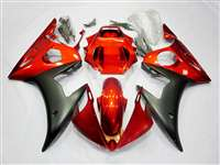Burnt Orange Yamaha 2003-2005 YZF R6 and 2006-2009 R6S Motorcycle Fairings | NY60305-4