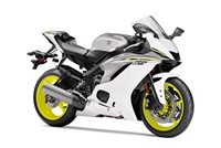 Grey/Neon/White Yamaha YZF-R6 2017-2019 Fairing Kit | NY61719-4