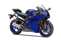 Blue/Black Yamaha YZF-R6 2017-2019 Fairing Kit | NY61719-7