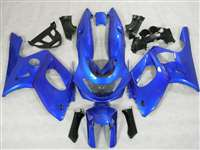 1997-2007 Yamaha YZF 600R Plasma Blue Motorcycle Fairings | NY69707-12