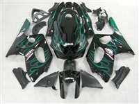 Green Flame 1997-2007 Yamaha YZF 600R Motorcycle Fairings | NY69707-18