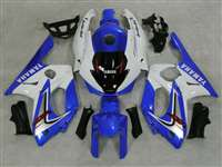 Blue/White 1997-2007 Yamaha YZF 600R Motorcycle Fairings | NY69707-22