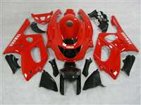 Solid Red 1997-2007 Yamaha YZF 600R Motorcycle Fairings | NY69707-25