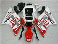 1998-2002 Yamaha YZF R6 Red FIAT Fairings | NY69802-10