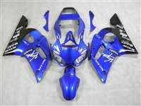 1998-2002 Yamaha YZF R6 Blue Virgin Mobile Fairings | NY69802-11