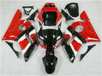 1998-2002 Yamaha YZF R6 OEM Red/White Motorcycle Fairings | NY69802-15