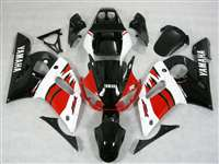 1998-2002 Yamaha YZF R6 Red/White/Black Motorcycle Fairings | NY69802-19