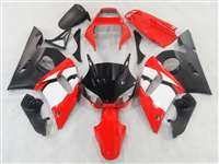 1998-2002 Yamaha YZF R6 Hybrid Red Fairings | NY69802-2