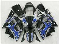 1998-2002 Yamaha YZF R6 Blue Tribal Fairings | NY69802-23