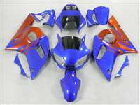 1998-2002 Yamaha YZF R6 Blue/Orange Fairings | NY69802-26