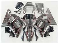 1998-2002 Yamaha YZF R6 Wild Tribal Silver Fairings | NY69802-27