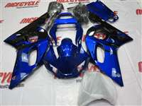 1998-2002 Yamaha YZF R6 Blue Black Fairings | NY69802-28